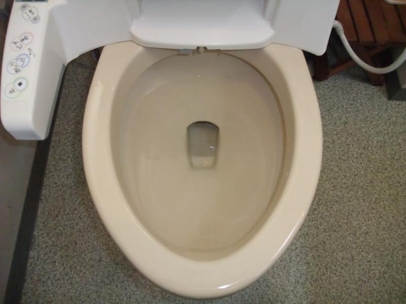 トイレ清掃後